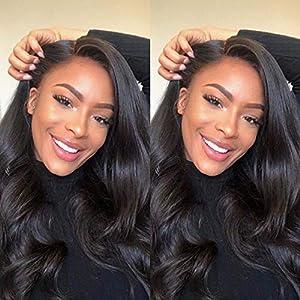 Gabrielle (18″ 20″ 22″) Body Wave Brazilian Human Hair Bundles 100% Unprocessed Brazilian Virgin Human Weave Hair Bundles Natural Color Hair Weave Extensions