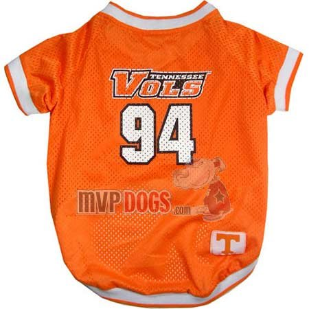 Tennessee Volunteers NCAA Dog Jersey XS