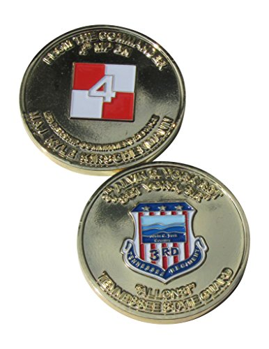 Tennessee State Coin - 3Rd Tennessee Regiment Tennessee State Guard Challenge Coin