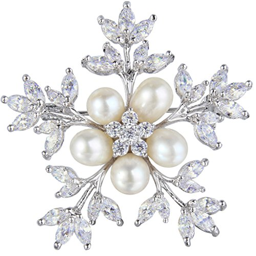 Pearl Flower Clasp - 9