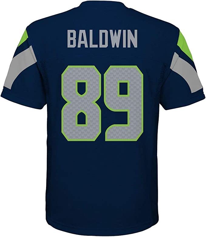 Doug Baldwin Seattle Seahawks NFL Youth Navy Home Mid-Tier Jersey