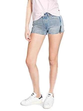 67f6ab9002c Levi's Women's 501 Short Altered Zip at Amazon Women's Clothing store: