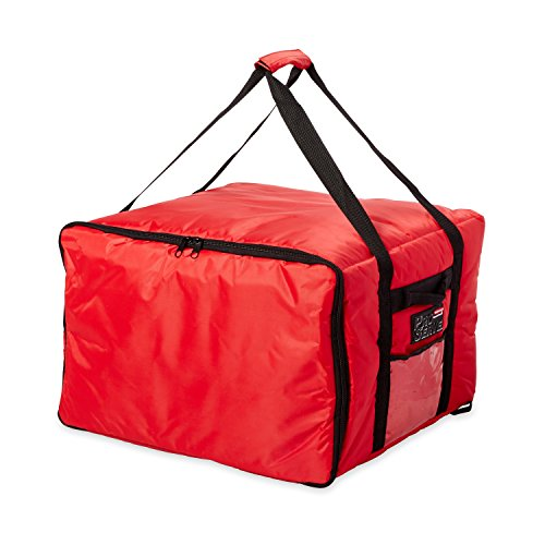 - Rubbermaid Commercial ProServe Catering Delivery Bag, Large, Red, FG9F3900RED