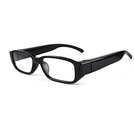 WINOMO Gafas Ocultas Cámara Gafas Spy Cam DV DVR Videocámara HD 1080P (Negro)