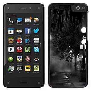 For Amazon Fire Phone , S-type® Lamp Black White Photo Night - Arte & diseño plástico duro Fundas Cover Cubre Hard Case Cover