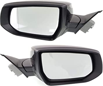 Power Mirror For 2013-2015 Chevrolet Malibu Left Heated with Memory Paintable