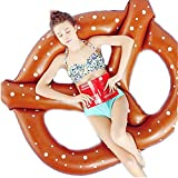 Fly Inflatable Bagel Swim Ring Floating Row PVC Water Supplies Inflatable Floating Row