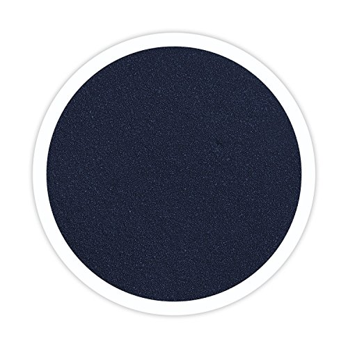 Sandsational Marine (Navy Blue) Unity Sand, ~1.5 lbs (22 oz), Navy Blue Colored Sand for Weddings, Vase Filler, Home Décor, Craft Sand]()