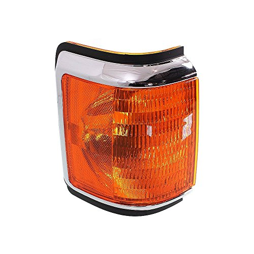 - Corner Light compatible with Ford F-Series 87-91 Corner Lamp RH Lens and Housing W/Trim Right Side