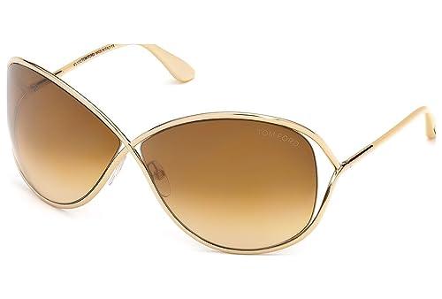 Amazon.com: Tom Ford – Gafas de sol, Color Miranda/marco ...