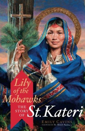 St Kateri Tekakwitha Laminated Holy Card