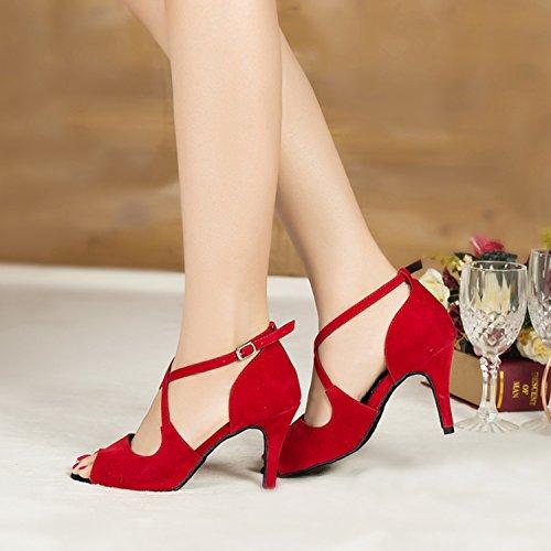Minitoo 36 Rot Größe Tanzschuhe Damen 7x0AOrqw7v