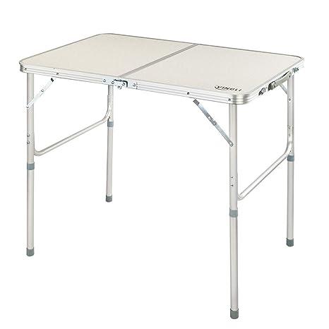 Amazon.com: z ZTDM plegable mesa de camping, de picnic ...