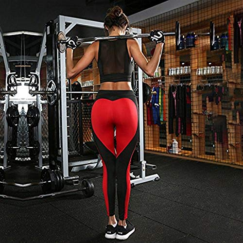 Rot Tight Patchwork Sports Yoga Pantaloni Vivere Leggings Emmala Abbigliamento Up Donna Fitness Sportivo Gym Running Moda Push vtaqxdwnx