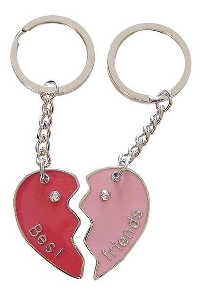 Llavero bolsa, joyas, diseño de corazón para separar ...