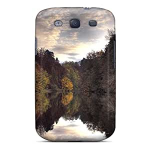 New Style Mobilecasesbest Hard Cases Covers For Galaxy S3- Reflective Lake