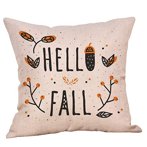 YESWOMAN Halloween Home Car Bed Sofa Decorative Letter Pillow Case Cushion Cover Camouflage Comfortable Pillow]()