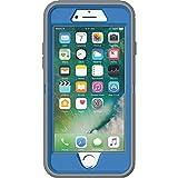 OtterBox Defender Series Case for iPhone 8 and iphone 7 - Retail Packaging - Marathoner (Cowabunga Blue/Gunmetal Grey)