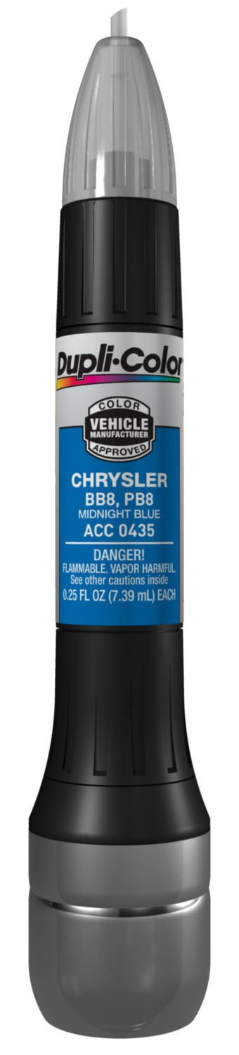 Dupli-Color (ACC0435-12PK) Midnight Blue Chrysler Exact-Match Scratch Fix All-in-1 Touch-Up Paint - 0.5 oz., (Pack of 12) by Dupli-Color