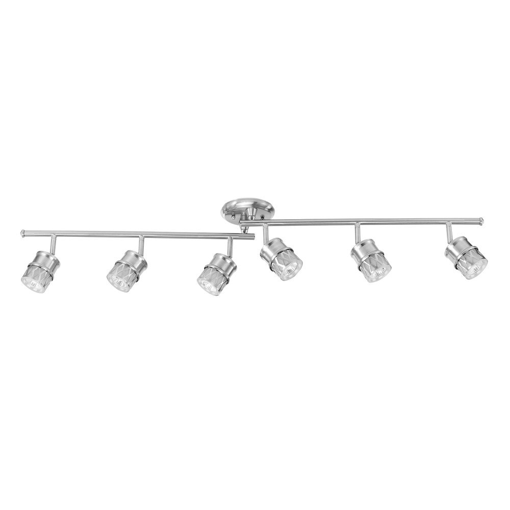 Globe Electric 59355 Track Lighting, Brushed Nickel by Globe Electric