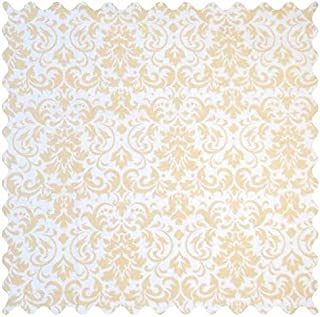 product image for SheetWorld Cream Damask Fabric - By The Yard