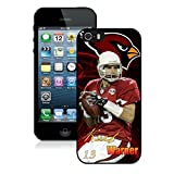 NFL&Arizona Cardinals Kurt Warner iphone 5 5S phone cases&Gift Holiday&Christmas Gifts PHNK626011