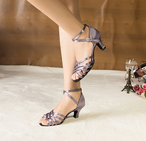 Miyoopark ,  Damen Tanzschuhe Light Purple-6cm heel