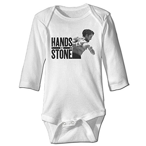 Kim Lennon Hand Of Stones Unisex Long-sleeve Baby Climb Clothes White 18 Months