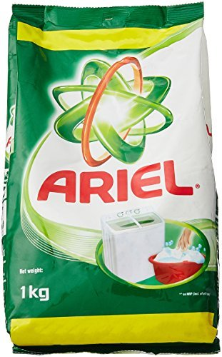 Ariel Brilliant Cleaning in 1 Wash Detergent Powder - 1 kg by Ariel