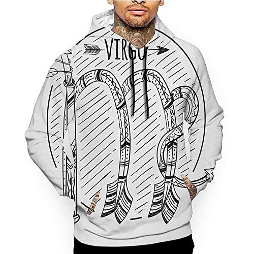 Hoodies Sweatshirt Pockets Turquoise,Festive Party Themed Ocean Sealife Inspired Hand Drawn Lines Art Print,White and Pale Blue,Sweatshirts for Boys -