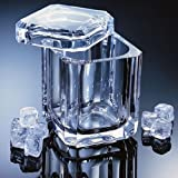 Grainware 70021 Regal Swivel Top Ice Bucket - Acrylic