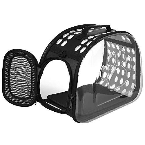 Best Fit Mesh Muzzle 3 (Emrters Cat Bag pet Backpack Portable Bag cat cage Dog Bag pet Bag Portable Space Bag (Black))
