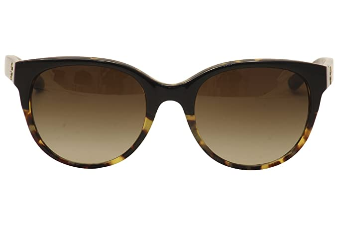 caae00b93 Tory Burch TY7095 Sunglasses 160113-54 - Black/Tortoise Frame, Dark Brown  Gradient: Amazon.ca: Shoes & Handbags