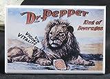 Dr. Pepper Vintage Advertising - Refrigerator Magnet.