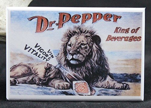 Dr. Pepper Vintage Advertising - Refrigerator Magnet.