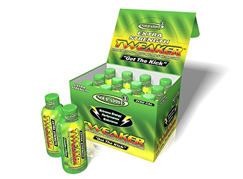 - Tweaker Sour Apple Energy Extra Strength Shot 2oz Singles (12)