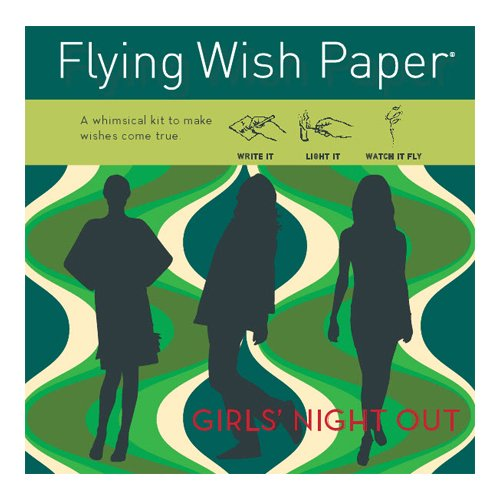 Flying Wish Paper Girl's Night - Small Day Poster
