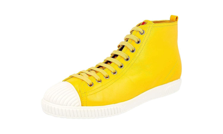 - Prada Women's 3T5877 A21 F0323 Leather Sneaker