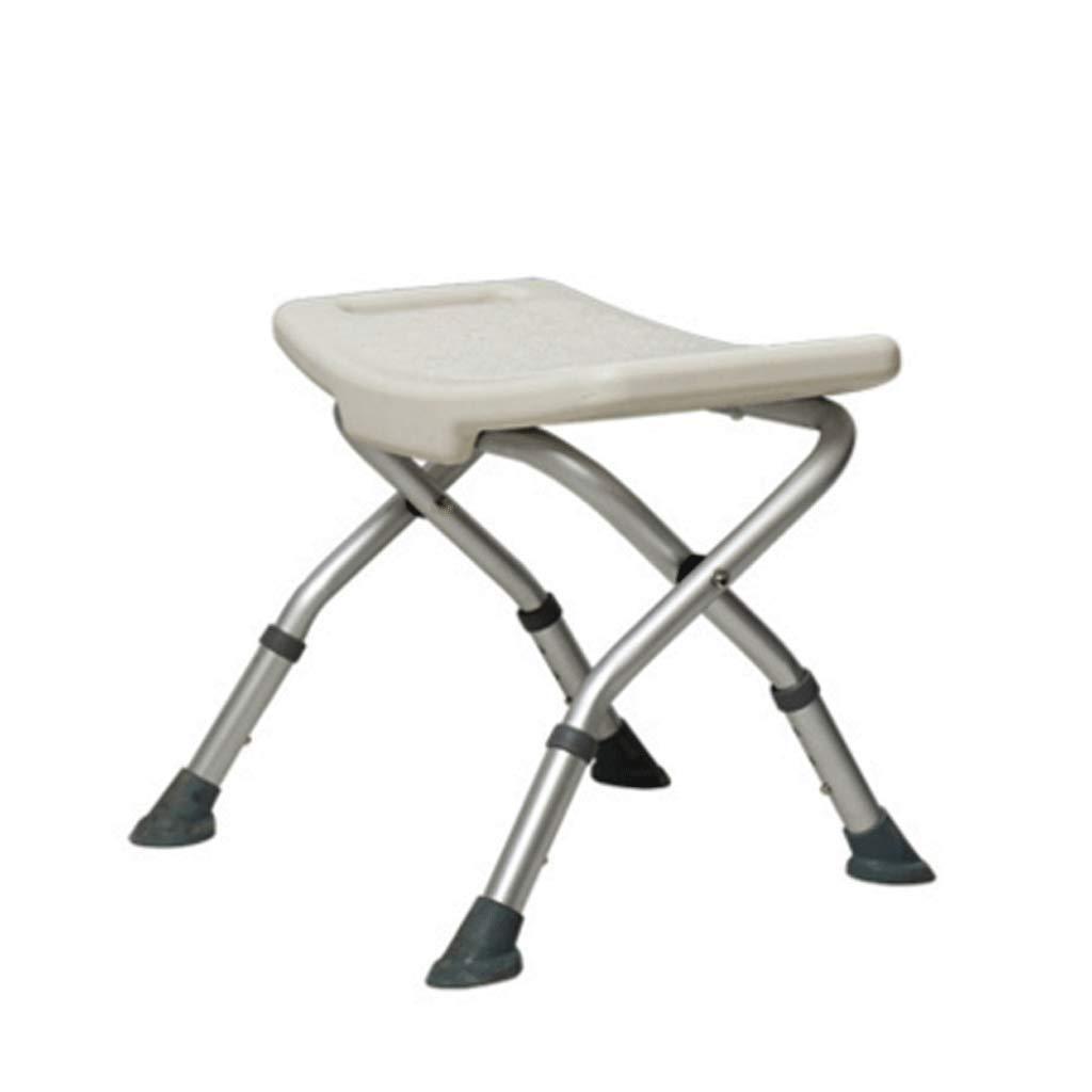 浴室滑り止めチェアシャワースツールアルミ合金超軽量厚さ耐久性滑り止め防水快適な通気性家庭用老人障害者妊婦子供白 B07S18F7TZ