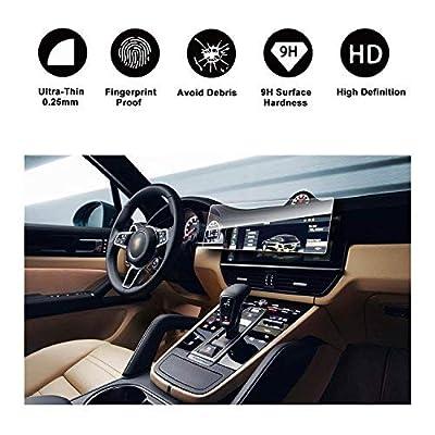 2020 Porsche Cayenne 12.3Inch Display Navigation Screen Protector, R RUIYA HD Clear Tempered Glass Screen Guard Shield Scratch-Resistant Ultra HD Extreme Clarity: GPS & Navigation [5Bkhe1509735]