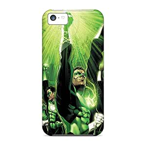 MarcClements Apple Iphone 5c Excellent Hard Phone Cover Custom Attractive Green Lantern Corps Pattern [QFl5526oDYJ]