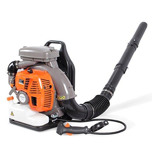 ARKSEN 80CC Backpack Leaf Blower Powerful Garden 2 Stroke Gasoline Lawn Debris Duster Outdoor Backyard Gas Powered EPA