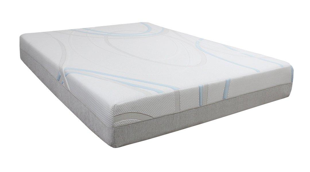 Amazoncom Bed Tech Gel Max 10 Memory Foam Mattress Twin Xl
