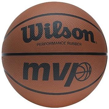 Wilson MVP Tan baloncesto al aire libre/de interior serie combinar entrenamiento deportes Baloncesto,