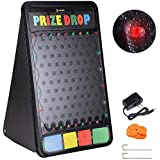 "WinSpin 41""x25"" Customizable Prize Drop Board Game with LED Light 12 Pucks Carnival Party Trade Show"