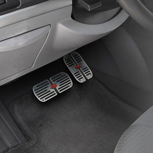 Pilot Automotive Pedal Pad Kit Manual Padded Foot Brake Pedal Pad Set