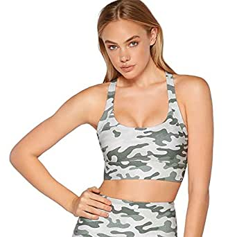 Lorna Jane Women's High Support Sports Bra, Action Print, X-Small