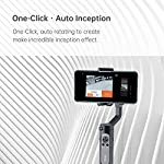 hohem 3-Axis Smartphone Gimbal Stabilizer for iPhone 11 Pro mAX/Xs Android, Foldbale Gimbal for Vlog Youtuber Live Video Recording, Face Tracking, Auto Inception Timelapse, iSteady X (Black) 6