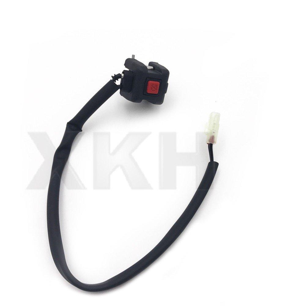 XKH Group Handle Kill Stop Switch For Honda Yamaha Suzkuki Kawasaki KTM Pit Dirt Bike ATV