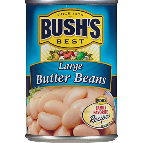 Bush's Best Large Butter Beans, 16 oz (12 cans)